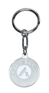 M 24 Axis Bank Keychain
